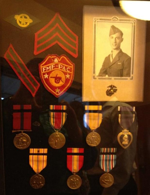 Bud Myers, Marine, veteran of Guadalcanal