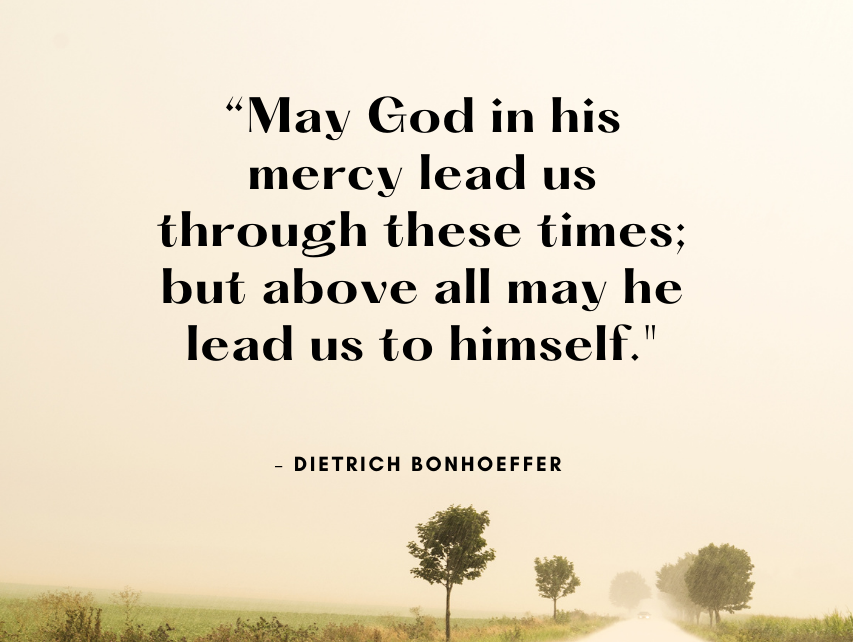 Quote from Bonhoeffer